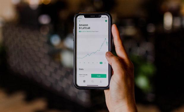 stock market on iphone